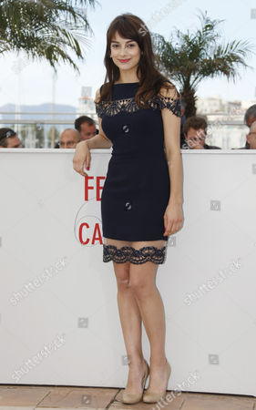 Canadian Actress Sophie Desmarais Poses During the Photocall For 'Sarah Prefere La Course' (sarah Prefers to Run) at the 66th Annual Cannes Film Festival in Cannes France 21 May 2013 the Movie is Presented in the 'Un Certain Regard' Section of the Festival Which Runs From 15 to 26 May France Cannes