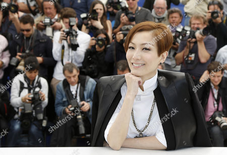 Hong Kong Actress Sammi Cheng Poses During the Photocall For 'Blind Detective' at the 66th Annual Cannes Film Festival in Cannes France 20 May 2013 the Movie is Presented out of Competition at the Festival Which Runs From 15 to 26 May France Cannes