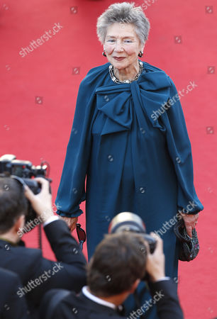 French Actress Emmanuelle Riva Arrives For the Screening of 'Blood Ties' During the 66th Annual Cannes Film Festival in Cannes France 20 May 2013 the Movie is Presented out of Competition at the Festival Which Runs From 15 to 26 May France Cannes