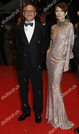 (l-r) Chinese Director Johnnie to and Chinese Actress Sammi Cheng Arrive For the Premiere of 'Blind Detective' During the 66th Annual Cannes Film Festival in Cannes France 19 May 2013 the Movie is Presented out of Competition at the Festival Which Runs From 15 to 26 May France Cannes