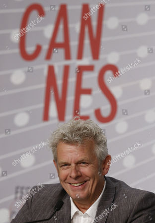 Dutch Director Alex Van Warmerdam Attends the Press Conference For 'Borgman' During the 66th Annual Cannes Film Festival in Cannes France 19 May 2013 the Movie is Presented in the Official Competition of the Festival Which Runs From 15 to 26 May France Cannes