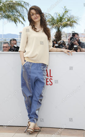 Stock Picture of Italian Actress Anita Kravos Poses During the Photocall For 'La Grande Bellezza' (the Great Beauty) at the 66th Annual Cannes Film Festival in Cannes France 21 May 2013 the Movie is Presented in the Official Competition of the Festival Which Runs From 15 to 26 May France Cannes