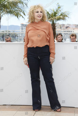 Italian Actress Iaia Forte Poses During the Photocall For 'La Grande Bellezza' (the Great Beauty) at the 66th Annual Cannes Film Festival in Cannes France 21 May 2013 the Movie is Presented in the Official Competition of the Festival Which Runs From 15 to 26 May France Cannes