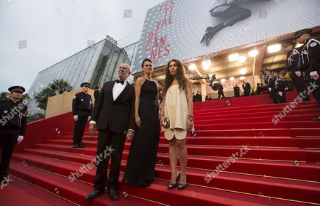 French Actor Jean-pierre Marielle (l) French Culture Minister Aurelie Filippetti (c) and Guest Arrive For the Screening of 'The Great Gatsby' and the Opening Ceremony of the 66th Annual Cannes Film Festival in Cannes France 15 May 2013 Presented out of Competition the Movie Opens the Festival Which Runs From 15 to 26 May France Cannes