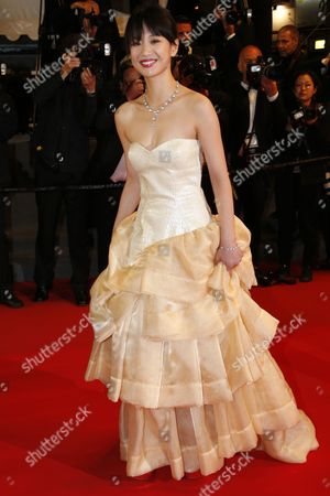 Chinese Actress Meng Li Arrives For the Screening of 'Tian Zhu Ding' (a Touch of Sin) During the 66th Annual Cannes Film Festival in Cannes France 17 May 2013 the Movie is Presented in the Official Competition of the Festival Which Runs From 15 to 26 May France Cannes
