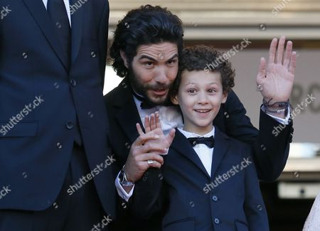 French Actors Tahar Rahim (l) and Elyes Aguis Arrive For the Screening of 'Le Passe' (the Past) During the 66th Annual Cannes Film Festival in Cannes France 17 May 2013 the Movie is Presented in the Official Competition of the Festival Which Runs From 15 to 26 May France Cannes