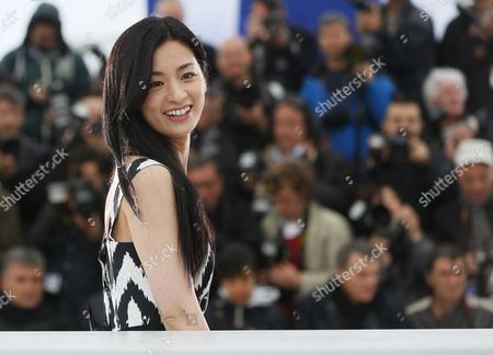 Japanese Actress Machiko Ono Poses During the Photocall For 'Soshite Chichi Ni Naru' (like Father Like Son) at the 66th Annual Cannes Film Festival in Cannes France 18 May 2013 the Movie is Presented in the Official Competition of the Festival Which Runs From 15 to 26 May France Cannes