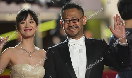 Chinese Actor Jiang Wu (r) and Chinese Actress Meng Li (l) Arrive For the Screening of 'Tian Zhu Ding' (a Touch of Sin) During the 66th Annual Cannes Film Festival in Cannes France 17 May 2013 the Movie is Presented in the Official Competition of the Festival Which Runs From 15 to 26 May France Cannes