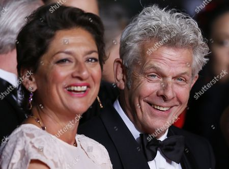 Dutch Director Alex Van Warmerdam (r) and Dutch Actress Annet Malherbe (l) Arrive For the Screening of 'Borgman' During the 66th Annual Cannes Film Festival in Cannes France 19 May 2013 the Movie is Presented in the Official Competition of the Festival Which Runs From 15 to 26 May France Cannes