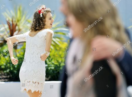 Argentine Actress Ana Pauls Gestures As She Poses During the Photocall For 'Wakolda' at the 66th Annual Cannes Film Festival in Cannes France 21 May 2013 the Movie is Presented in the 'Un Certain Regard' Section of the Festival Which Runs From 15 to 26 May France Cannes