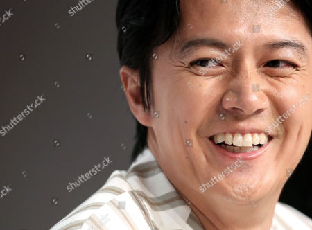 Japanese Actor Masaharu Fukuyama Attends the Press Conference For 'Soshite Chichi Ni Naru' (like Father Like Son) During the 66th Annual Cannes Film Festival in Cannes France 18 May 2013 the Movie is Presented in the Official Competition of the Festival Which Runs From 15 to 26 May France Cannes