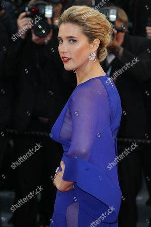 French Actress Vahina Giocante Arrives For the Screening of 'The Great Gatsby' and the Opening Ceremony of the 66th Annual Cannes Film Festival in Cannes France 15 May 2013 Presented out of Competition the Movie Opens the Festival Which Runs From 15 to 26 May France Cannes
