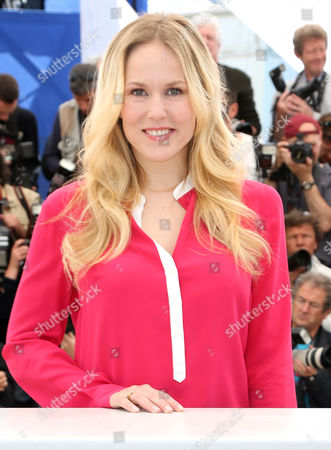 Dutch Actress Hadewych Minis Poses During the Photocall For 'Borgman' at the 66th Annual Cannes Film Festival in Cannes France 19 May 2013 the Movie is Presented in the Official Competition of the Festival Which Runs From 15 to 26 May France Cannes