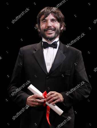 Mexican Director Diego Quemada-diez Receives the 'Un Certain Talent' Award For the Ensemble Cast of 'La Jaula De Oro' During the 'Un Certain Regard' Closing Ceremony As Part of the 66th Annual Cannes Film Festival in Cannes France 25 May 2013 France Cannes