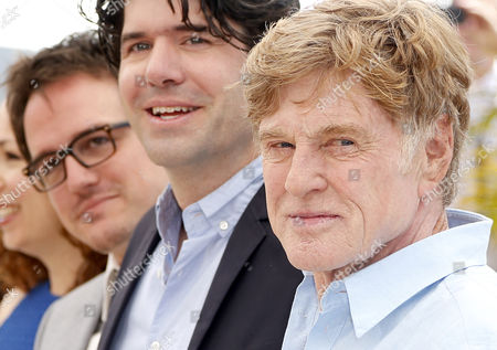 (l-r) Producer Neal Dodson Us Director J C Chandor and Us Actor Robert Redford Pose During the Photocall For 'All is Lost' at the 66th Annual Cannes Film Festival in Cannes France 22 May 2013 the Movie is Presented out of Competition at the Festival Which Runs From 15 to 26 May France Cannes
