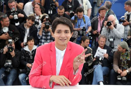 Stock Photo of Actor Armando Espitia Poses During the Photocall For 'Heli' at the 66th Annual Cannes Film Festival in Cannes France 16 May 2013 the Movie is Presented in the Official Competition of the Festival Which Runs From 15 to 26 May France Cannes