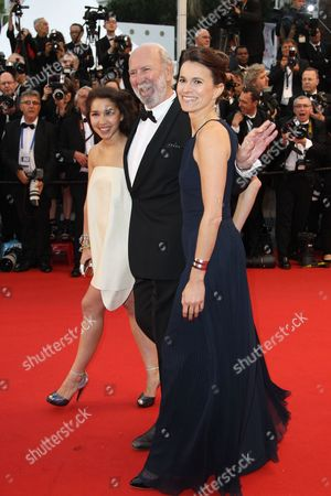 French Actor Jean-pierre Marielle (c) French Culture Minister Aurelie Filippetti (r) and Guest Arrive For the Screening of 'The Great Gatsby' and the Opening Ceremony of the 66th Annual Cannes Film Festival in Cannes France 15 May 2013 Presented out of Competition the Movie Opens the Festival Which Runs From 15 to 26 May France Cannes
