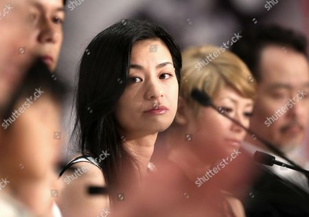 Japanese Actress Machiko Ono (c) Attends the Press Conference For 'Soshite Chichi Ni Naru' (like Father Like Son) During the 66th Annual Cannes Film Festival in Cannes France 18 May 2013 the Movie is Presented in the Official Competition of the Festival Which Runs From 15 to 26 May France Cannes