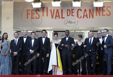 (l-r) Us Actress Zoe Saldana Us Actor Noah Emmerich Us Actor Billy Crudup French Director Guillaume Canet British Actor Clive Owen French Actress Marion Cotillard Us Actor Jamie Hector Us Actress Lili Taylor Us Actor Domenick Lombardozzi and Us Artist Mark Mahoney Arrive For the Screening of 'Blood Ties' During the 66th Annual Cannes Film Festival in Cannes France 20 May 2013 the Movie is Presented out of Competition at the Festival Which Runs From 15 to 26 May France Cannes