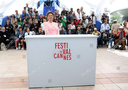 Stock Picture of Dutch Actress Annet Malherbe Poses During the Photocall For 'Borgman' at the 66th Annual Cannes Film Festival in Cannes France 19 May 2013 the Movie is Presented in the Official Competition of the Festival Which Runs From 15 to 26 May France Cannes