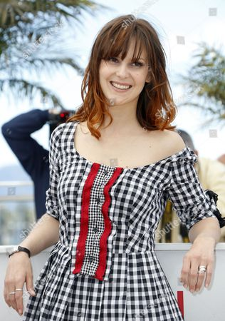 French Actress Elodie Navarre Poses During the Adami Talents Photocall at the 66th Annual Cannes Film Festival in Cannes France 20 May 2013 the Festival Runs From 15 to 26 May France Cannes