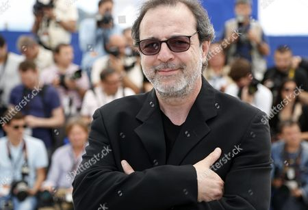 Jury Member Turkish Director Semih Kaplanoglu Poses During the Photocall of the Cinefondation Jury at the 66th Annual Cannes Film Festival in Cannes France 22 May 2013 the Festival Runs From 15 to 26 May France Cannes