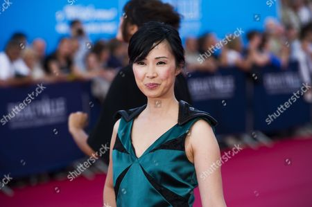 Stock Image of French Actress Linh-dan Pham Arrives For the Screening of 'Behind the Candelabra' and the Opening Ceremony of the 39th Annual Deauville American Film Festival in Deauville France 30 August 2013 Presented out of Competition the Movie Opens the Festival Which Runs From 30 August to 08 September France Deauville