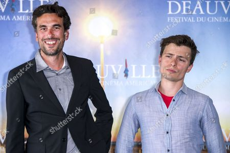 Us Director Alexandre Moors (l) and Us Screenwriter R F i Porto (r) Pose at a Photocall For 'Blue Caprice' During the 39th Annual Deauville American Film Festival in Deauville France 31 August 2013 the Movie is Presented in the Official Competition of the Festival That Runs From 30 August to 08 September France Deauville