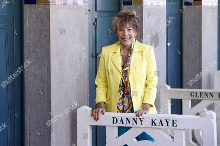 Dena Kaye the Daughter of Us Actor Danny Kaye (1913-1987) Unveils Her Father's Cabin Sign As a Tribute For His Career Along the Promenade Des Planches During the American Film Festival During the 39th Annual Deauville American Film Festival in Deauville France 04 September 2013 the Festival Runs From 30 August to 08 September France Paris
