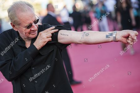 Us Film Director Larry Clark Poses For the Photographers As He Arrives on the Red Carpet Before the Tribute For His Career During the 39th Annual Deauville American Film Festival in Deauville France 04 September 2013 the Festival Runs From 30 August to 08 September France Deauville