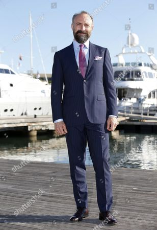 Turkish Actor Halit Ergenc Poses During a Photocall For the Tv Series 'Wounded Love' at the Annual Mipcom Television Content Market in Cannes France 18 October 2016 the Media Event Runs From 17 to 20 October France Cannes