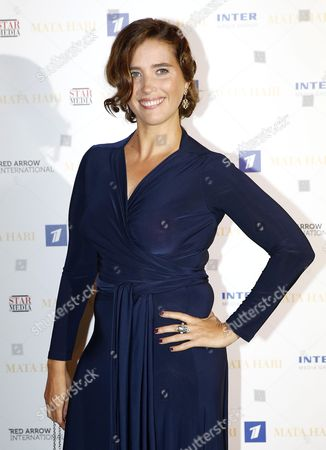 French Actress Vahina Giocante Poses During a Photocall For the Tv Series 'Mata Hari' at the Annual Mipcom Television Content Market in Cannes France 16 October 2016 the Media Event Runs From 17 to 20 October France Cannes