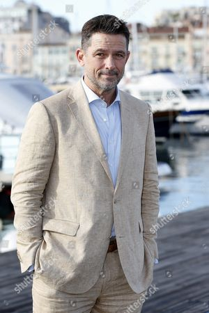 Us Actor Billy Campbell Poses During a Photocall For the Tv Series 'Cardinal' at the Annual Mipcom Television Content Market in Cannes France 18 October 2016 the Media Event Runs From 17 to 20 October France Cannes