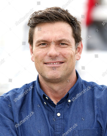 Canadian Chef and Tv Personality Chuck Hughes Poses During a Photocall at the Annual Mipcom Television Content Market in Cannes France 18 October 2016 the Media Event Runs From 17 to 20 October France Cannes
