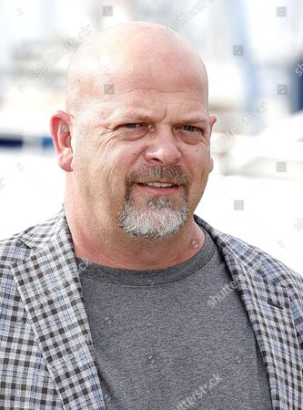 Us Businessman Rick Harrison Poses During a Photocall For the Tv Series 'Pawn Stars' at the Annual Mipcom Television Content Market in Cannes France 17 October 2016 the Media Event Runs From 17 to 20 October France Cannes