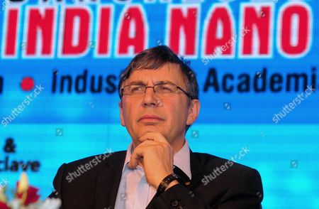 Andre Geim Nobel Laureate For the Year 2010 For Physics From the University of Manchester England During the Inauguration of the 6th Bangalore 'India Nano' at a News Conference in Bangalore 05 December 2013 Over 225 Leading International and Indian Companies and 50 Exhibitors Which Include German United Kingdom Korea and Japan Are Taking Part to Showcase Their Nanoscience Nano Technology Research and Development and Investors Giving an Excellent Platform For Knowledge-sharing Networking and Business Epa/jagadeesh Nv India Bangalore