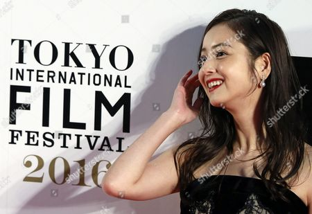 Japanese Actress Nozomi Sasaki Arrives For the Opening of the 29th Tokyo International Film Festival (tiff) in Tokyo Japan 25 October 2016 the Tiff Will Show a Variety of Film Screenings Until 03 November Japan Tokyo
