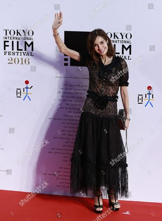 French Actress Anne Parillaud Attends the Opening Red Carpet Event of the 29th Tokyo International Film Festival (tiff) in Tokyo Japan 25 October 2016 the Tiff Will Show a Variety of Film Screenings Until 03 November Japan Tokyo