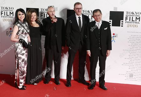 The Competition Jury Members of the 29th Tokyo International Film Festival (tiff) (from L to R) Mabel Cheung Nicole Rocklin Jean Jacques Beineix Valerio Mastandrea and Hideyuki Hirayama Attend the Opening Red Carpet Event of Tiff in Tokyo Japan 25 October 2016 the Tiff Will Show a Variety of Film Screenings Until 03 November Japan Tokyo