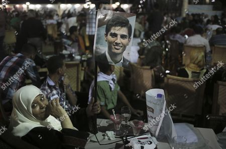 Fans of Palestinian Singer Mohammad Assaf Celebrate After He Won the Final of the Arab Idol Competition in the North Gaza Strip 22 June 2013 Reports State That Since March 2013 the 22-year-old is Gaza's Powerful Voice Palestinians Watch Him Every Weekend in a Beirut-based Competition That Started out with 27 Contestants - Gaza Strip