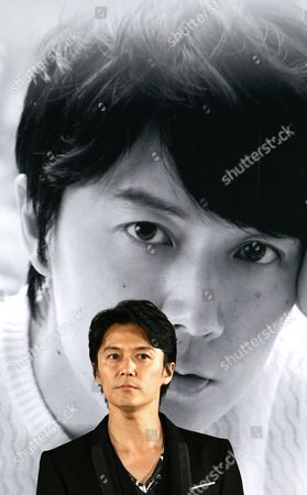 Japanese Singer and Actor Fukuyama Masaharu Attends an Open Talk As Part of the 18th Busan International Film Festival (biff) at the Haeundae Biff Village in Busan South Korea 04 October 2013 the Biggest Film Festival in Asia Showcases 301 Films From 70 Countries From 03 to 12 October Korea, Republic of Busan