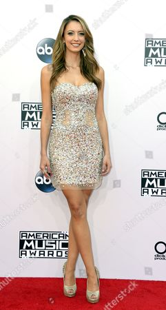 Singer Taryn Southern Arrives For the 2014 American Music Awards at the Nokia Theatre in Los Angeles California Usa 23 November 2014 United States Los Angeles
