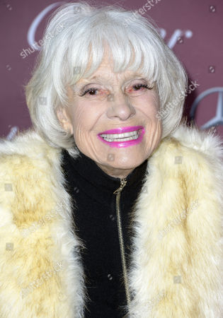 Us Actress Carol Channing Arrives For the Palm Springs International Film Festival Gala in Palm Springs California Usa 03 January 2015 United States Palm Springs