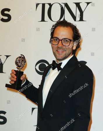 Sam Gold Winner of the Award For Best Direction of a Musical For 'Fun Home ' Poses in the Press Room at the 2015 Tony Awards at Radio City Music Hall in New York New York Usa 07 June 2015 the Annual Awards Honor Excellence in Broadway Theatre United States New York
