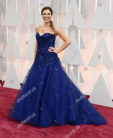 Thea Andrews Arrives For the 87th Annual Academy Awards Ceremony at the Dolby Theatre in Hollywood California Usa 22 February 2015 the Oscars Are Presented For Outstanding Individual Or Collective Efforts in 24 Categories in Filmmaking United States Hollywood