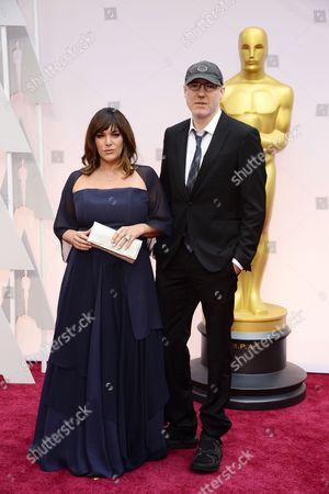 Stock Image of Composer and Singer-songwriter Danielle Brisebois (l) and Singer-songwriter Gregg Alexander (r) Arrive For the 87th Annual Academy Awards Ceremony at the Dolby Theatre in Hollywood California Usa 22 February 2015 the Oscars Are Presented For Outstanding Individual Or Collective Efforts in 24 Categories in Filmmaking United States Los Angeles