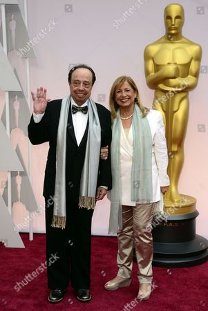 Sergio Mendes (l) and Wife Gracinha Leporace (r) Arrive For the 87th Annual Academy Awards Ceremony at the Dolby Theatre in Hollywood California Usa 22 February 2015 the Oscars Are Presented For Outstanding Individual Or Collective Efforts in 24 Categories in Filmmaking United States Hollywood