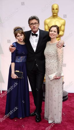 (l-r) Agata Trzebuchowska Pawel Pawlikowski and Agata Kulesza Arrive For the 87th Annual Academy Awards Ceremony at the Dolby Theatre in Hollywood California Usa 22 February 2015 the Oscars Are Presented For Outstanding Individual Or Collective Efforts in 24 Categories in Filmmaking United States Los Angeles