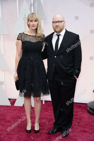 Composer Johann Johannsson (r) and Guest Arrive For the 87th Annual Academy Awards Ceremony at the Dolby Theatre in Hollywood California Usa 22 February 2015 the Oscars Are Presented For Outstanding Individual Or Collective Efforts in 24 Categories in Filmmaking United States Hollywood