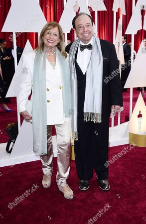 Sergio Mendes (r) and Wife Gracinha Leporace (l) Arrive For the 87th Annual Academy Awards Ceremony at the Dolby Theatre in Hollywood California Usa 22 February 2015 the Oscars Are Presented For Outstanding Individual Or Collective Efforts in 24 Categories in Filmmaking United States Los Angeles